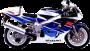 Suzuki GSX R 750 91-96
