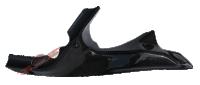 Cobertura do Ram Air Esquerdo Carbono - DU-C014